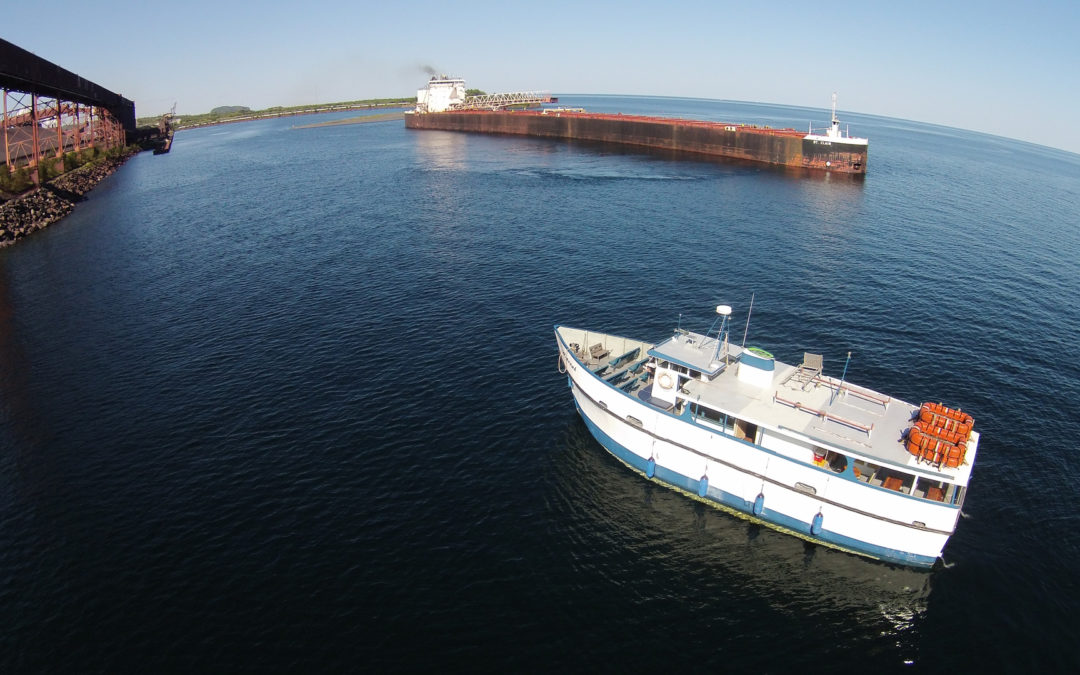 Lake Freighters and Salty Ships on Lake Superior: Schedule/Ship Watching Spots