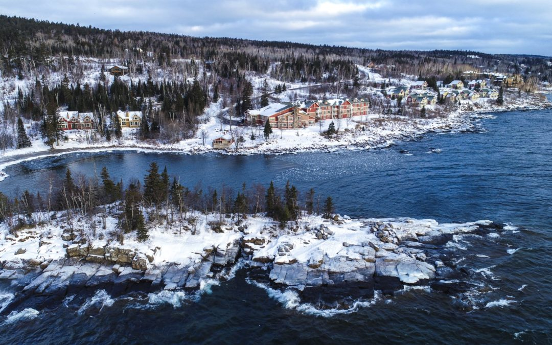 Why should you stay at Cove Point Lodge?