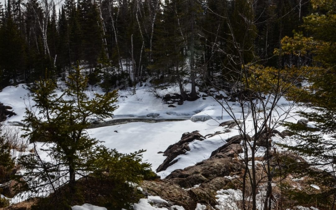 Chasing Waterfalls – Illgen Falls at Tettegouche State Park