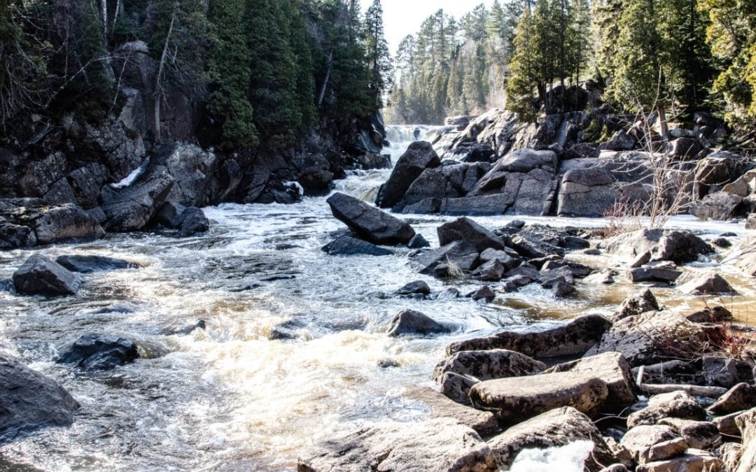 Chasing Waterfalls – Beaver River Falls on the Superior Hiking Trail