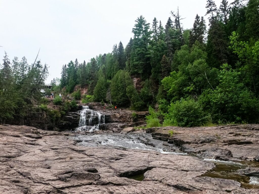 Eastern Portion of Lower Gooseberry Falls