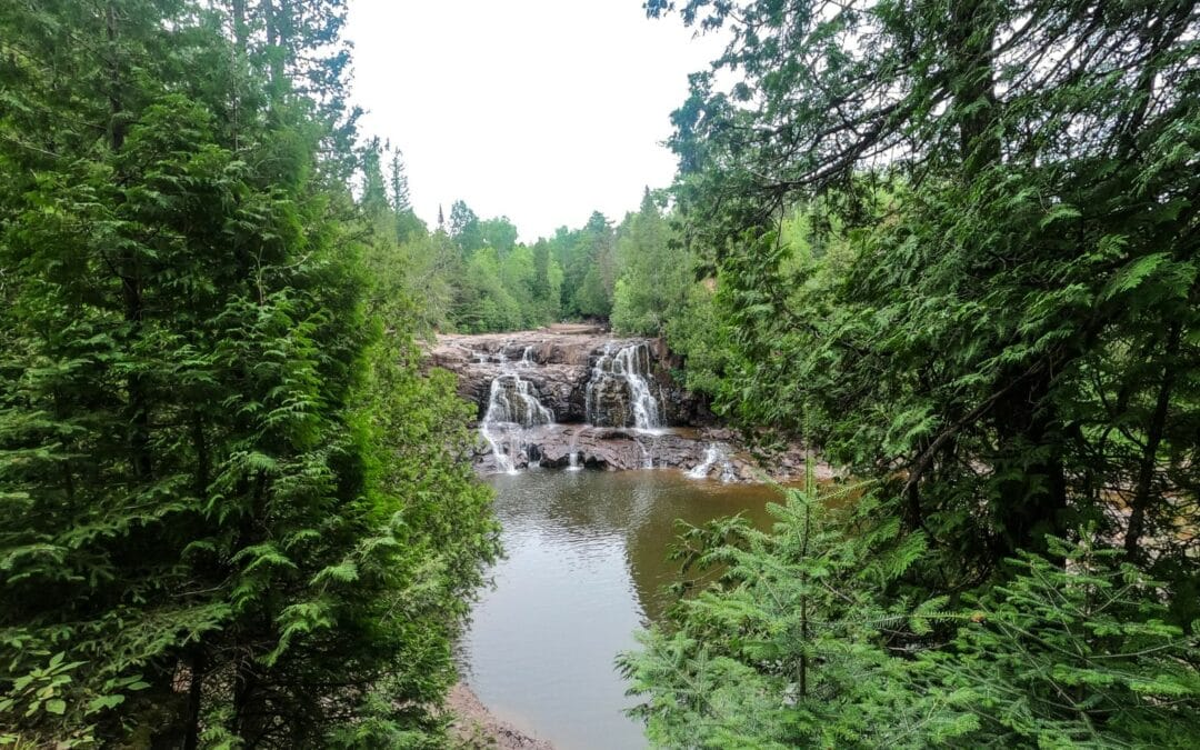 Gooseberry Falls – Down but not Dry